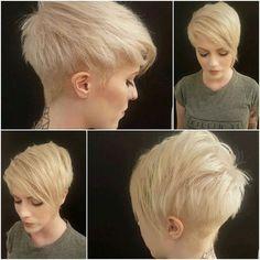 Trendy Kurze Haarschnitte für Frauen //  #Frauen #für #Haarschnitte #kurze #Trendy