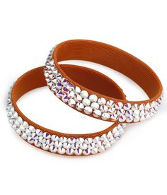 BeSparkled Crystal AB 3 Row Rhinestone Bracelet (Single) available in many different colors!!