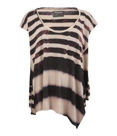 Bleach Zebra Top, Women, Tops, AllSaints Spitalfields