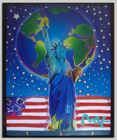 peter max -we have one of these - my husband's choice