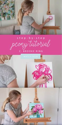 Join me for a live mini step-by-step tutorial Saturday April @ (EDT)! We will be offering more in-depth live classes for purchase in the future so stay tuned for those! We look forward to seeing y'all there. Canvas Painting Tutorials, Acrylic Painting Tutorials, Diy Painting, Painting & Drawing, Knife Painting, Acrylic Painting Flowers, Acrylic Painting Techniques, Acrylic Art, Painting Videos