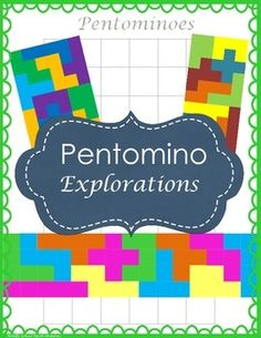 Use pentominoes to get your math class discussing, problem solving, persisting, and thinking! Students really have fun with pentominoes, and the great part about the fun is that they are having fun thinking and solving a problem (which they dont seem to realize!).Ive used the activity with a very wide range of students and it has quickly given me valuable information about my new students (I do this on the first day or two of math class).