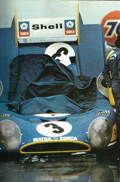 François Cevert / Jean-Pierre Beltoise / Henri Pescarolo - Matra-Simca - Équipe Matra-Simca - 24 Hours of Daytona - 1973 World Championship for Makes, round 1 24 Hours Of Daytona, Daytona 24, Sport Cars, Race Cars, Sport En France, Matra, Alpine Renault, Automobile, Le Mans 24
