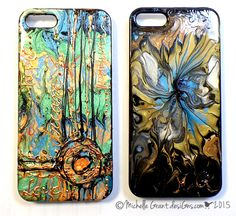 Crafty Crusaders: Pebeo Fantasy Phone Covers with Michelle