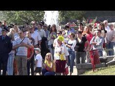 Два кольори у прапорі злились! - День Державного Прапора України в Сумах (2015) - YouTube