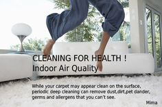 www.mimacleaning.com Steam Cleaning, Deep Cleaning, Organic Cleaning Products, Pet Dander, Cleaning Services, Indoor Air Quality, How To Remove, Housekeeping, Maid Services