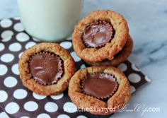 Peanut Butter Cup Cookies  from: The Diary Of Daves Wife.com