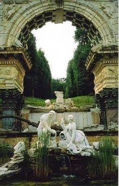 Schonbrunn ruins, Vienna, Austria