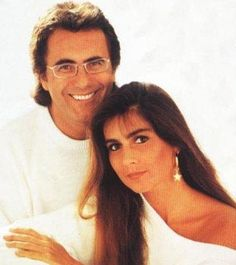 Al Bano & Romina Power -superstars in Italy. They stayed with friends in Illinois and I had dinner with them.