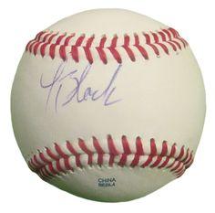 Lucas Black Autographed Rawlings ROLB1 Baseball, Proof Photo