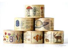 Encyclopedia Washi Tape from Cute Tape...be still my art journaling heart!