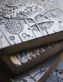 Angie Lewin's gorgeous linocuts and wood engravings.