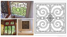 Square 23×23-inch Tableaux Faux Iron Window Treatments are sustainable, fine home decor window treatments that are easy to install and dazzling to the eye. Delight your friends, family and neighbors with functional artwork that will never cease to amaze! For pricing and product details, please visit FauxIronDIRECT.com or call 1 (800)281-9963 today!