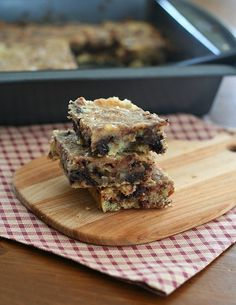 Low Carb Salted Caramel Pecan Blondies with a recipe for caramel sauce.  Makes 16 servings 5g carbs, 2 fiber= 3 G net carbs, 23g fat, 4g protein.   234 calories   S