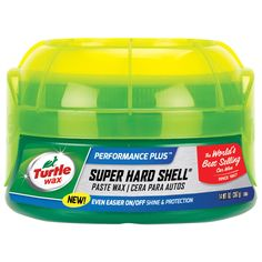 Turtle Wax T222R 14 Oz Super Hard Shell (White) Car Wax (Car care/cleaning)