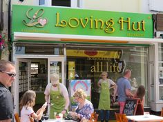 Fastfood lunch at the Loving Hut in Brighton (UK) *** Vegan Restaurant Options, Vegan Restaurants, Brighton Uk, Vegan Options, Street, Travel, Viajes, Traveling, Walkway