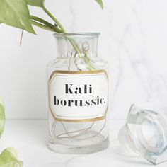 Bouteille Kaliborussic Deco, Wine Glass, Tableware, Pharmacy, Bottle, Drinkware, Dinnerware, Tablewares, Decoration