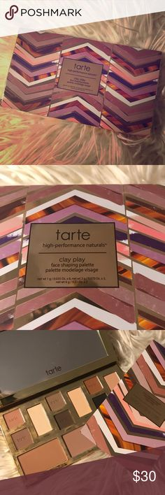 Tarte Clay Play palette Brand new, comes with a sheet with makeup ideas tarte Makeup Face Powder