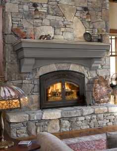 Most current Free of Charge large Stone Fireplace Style Hadley Cottage Fireplace Shelf Mantel Cottage Fireplace, Fireplace Shelves, Open Fireplace, Diy Fireplace, Fireplace Surrounds, Stone Fireplace Makeover, Fireplace Makeovers, Country Fireplace, Reface Brick Fireplace