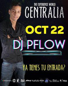 Mañana no faltará el talento musical de @djpflow quien te pondrá a bailar con todo su POWER!! C E N T R A L I A Entradas en @ticketmundo o mañana en la puerta 4300Bs!! #Centralia2016 #Caracas #theexperienceworld #talentonacional #djs #halloween #haciendaelarroyo #Centralia #musica #theexperienceparty #octubre #Venezuela #theexperienceworldcentralia