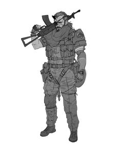 Big Boss -- Venom Snake by Pyroow.deviantart.com on @DeviantArt