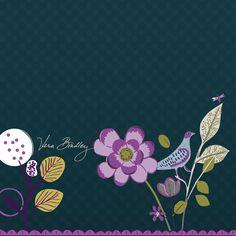 Vera Bradley Floral Nightingale