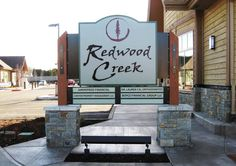 Redwood Creek Offices Monument Sign