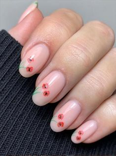 #almond nails#pink nails#pink almond nails #nailitdaily #nailit #nailpro #valentinesdaynails #nailtrends #thegelbottleinc #tgb #handpaintednailart #girlbossbaes #cutenails #showscratch #brillbirduk #manicureideas #LOVE #southwalesnailtech #gelmanicure #heart #heartdrawings #handpaintednails #handdrawings #heartdrawing #rednails #redheart #salonchat #valentinesdaynailart #lovehearts #instalove Flower Nail Art, Poppy, Dandelion, Painting, Beauty, Dandelions, Painting Art, Poppies, Paintings