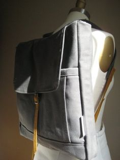 The Rucksack in Gray