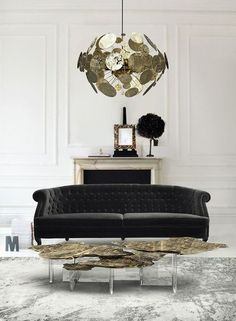 Top Furniture Exhibitors at 100% Design – Boca do Lobo and their Monet Center Table