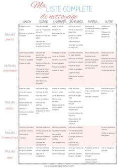 Housekeeping schedule for a clean house Organization Bullet Journal, Diy Organisation, Planner Organization, Organising, Housekeeping Schedule, Flylady, Clean House, Cleaning Hacks, Cleaning Checklist