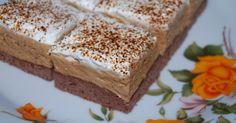 Könnyen elkészíthető habos sütemény, ami nagyon jól mutat. Ha édességre vágyunk, érdemes kipróbálnunk, gyors és egyszerű recept, de nagyon ínycsiklandó! Hozzávalók: A laphoz: 5 tojás…