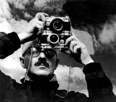Willy Ronis, Self-portrait, 1955