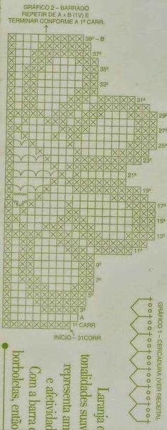 Thread crochet magazines to re Filet Crochet, Thread Crochet, Love Crochet, Crochet Motif, Crochet Flowers, Crochet Lace, Crochet Curtains, Crochet Tablecloth, Tapestry Crochet