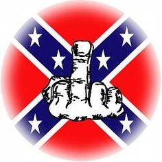Rebel (Confederate) Fuck You button Medusa, Redneck Tattoos, Rebel Flag Tattoos, White Trash Party, Mr Bones, Pride Tattoo, Harley Quinn Halloween, Southern Pride, Southern Humor