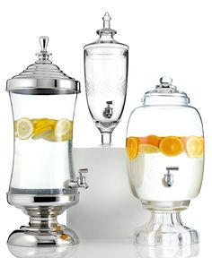 Godinger Serveware, Gatherings Beverage Dispenser Collection - Outdoor Dining & Picnic - Dining & Entertaining - Macys Bridal and Wedding Registry   #macysdreamfund