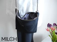 MILCH_bag remade of trousers & shirt upcycling fashion vienna austria buy online boutique.MILCH.tm