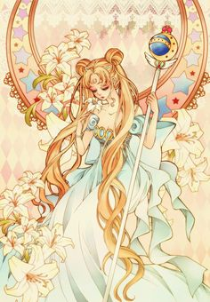 Shared by kawaii♡^_^¦shojo. Find images and videos about anime, manga and sailor moon on We Heart It - the app to get lost in what you love. Sailor Moons, Arte Sailor Moon, Sailor Moon Fan Art, Sailor Moon Usagi, Sailor Neptune, Sailor Moon Dress, Princess Serenity, Neo Queen Serenity, Manga Anime