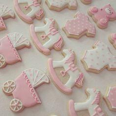 #babyshower #bautizo #pink #niña #cookies #cookiesdecorated #royalicing… Baby Shower, Pasta Flexible, Royal Icing Cookies, Biscotti, Cookie Decorating, Pink, Decorated Cookies, Instagram Posts, Desserts