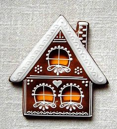 Today we are looking at Moravian and Bohemian gingerbread designs from the Czech Republic. Back home, gingerbread is eaten year round and beautifully decorated cookies are given on all occasions. Gingerbread Village, Gingerbread Decorations, Christmas Gingerbread House, Candy Christmas Decorations, Noel Christmas, Christmas Baking, Christmas Projects, Gingerbread Cookies, Christmas Candy