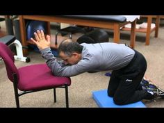 Lat stretch to relax back muscles