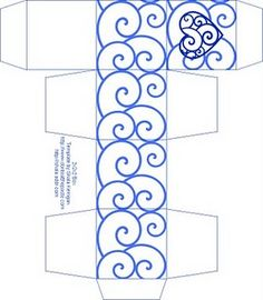Love this box template - perfect for party favors