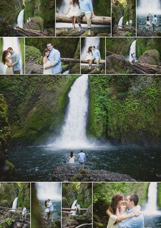 Falls Engagement Session Wahclella Falls Engagement Session, Oregon Elopement Photographer, Waterfall Engagement Session, Shannon Hager PhotographyHager Hager is the surname of several people: Engagement Photo Poses, Engagement Photo Inspiration, Fall Engagement, Engagement Pictures, Engagement Shoots, Engagement Photography, Wedding Photography, Prenup Photos Ideas, Picture Ideas