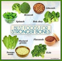Best Foods for Stronger Bones