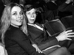 Paris, 31th January 1968, Roman Polanski & Sharon Tate at the premiere of 'The Fearless Vampire Killers'.