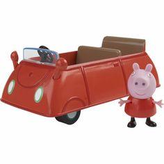 Peppa Pig Vehicles - Classic Car - Toys R Us - Britain's greatest toy store Peppa Pig Tv, Peppa Pig World, Toys R Us, Kids Toys, Mega Pokemon, Pokemon Games, Kids Makeup, Preschool Toys, Toys Online