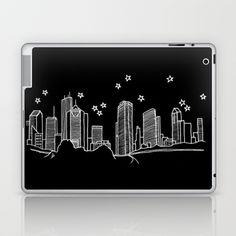 Houston, Texas City Skyline Laptop & iPad Skin by Architette Studios - $25.00