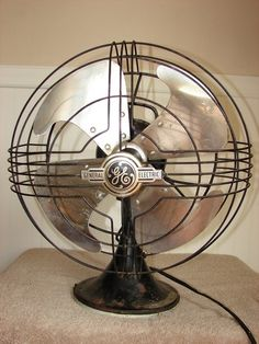 This GE fan recalls an era of simple pleasures in which a glass of ice cold lemonade and a cool breeze were all you needed on a hot summer day.