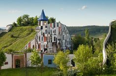 Blumau Spa in Austria - designed by Hundertwasser...for a different spa getaway.