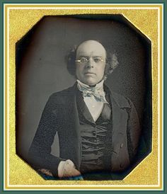 David Woodhull Wetmore Ct About 1847 Sixth plate daguerreotype